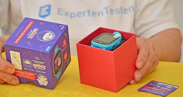 SoyMomo Space 4G Smartwatch im Test - optimiert die GPS-Genauigkeit und verbessert die Konnektivität der Uhr mit der App