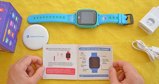 SoyMomo Space 4G Smartwatch im Test - verwendet die GSM-, WIFI- und GPS-Technologien, die es. zusammen mit seinen intelligenten Algorithmen, ermöglichen den genauesten Standort anzugeben