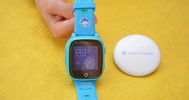 SoyMomo Space 4G Smartwatch im Test - verfügt über eine integrierte Kamera und ermöglicht das Speichern von Fotos